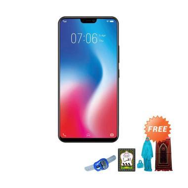 VIVO V9 Smartphone - Black + Free Paket Sholat Wanita