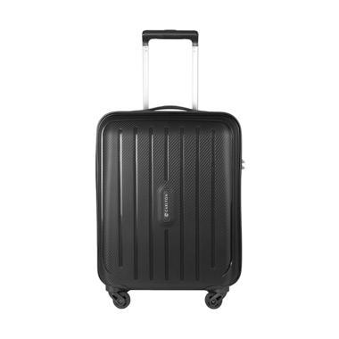 Carlton 239J55 Hardcase Kabin Koper - Jet Black [20 inch]
