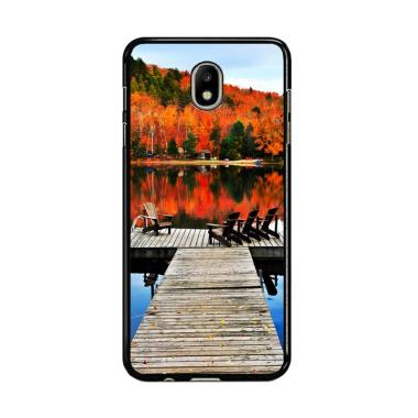 Flazzstore Autumn Fall On Lake Y151 ... amsung Galaxy J7 Pro 2017