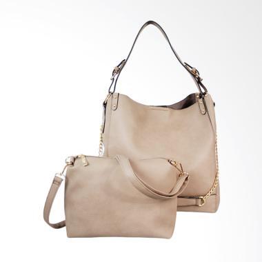 Bellezza MS-E70 Shoulder Bag Wanita - Grey
