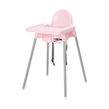 Ikea Antilop Kursi Makan Anak Dengan Baki - Pink