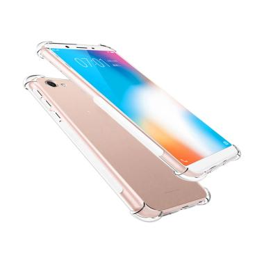Qcf Anti Crack Anti Shock Vivo Y71 Softcase Vivo Y71 Casing Vivo Y71 Transparant