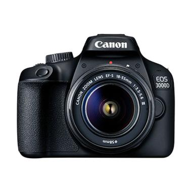 Canon EOS 3000D Kit 18-55 III DC Ka ... Ultra 16Gb + Screen Guard