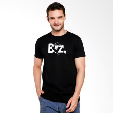 Breeze Industries Hand Kaos Distro Pria - Black