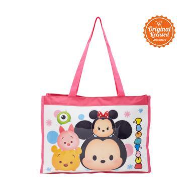 Disney Tsum Tsum Tuition Bag Tas Sekolah Anak - Pink