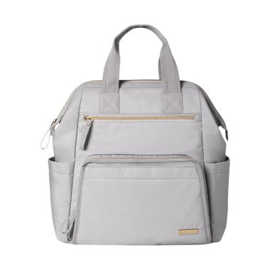 Skip Hop SH200151 Main Frame Wide Open Backpack - Cement