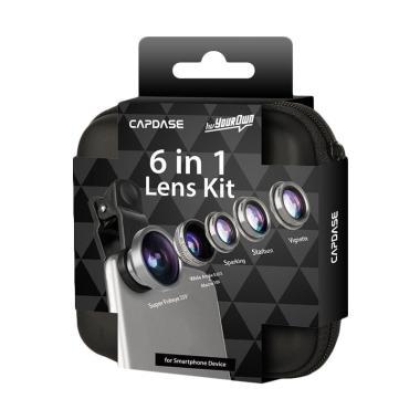 harga Capdase LN0001 Super Fish Eye 6in1 Lensa Kit for Smartphone & Tablet - Clear Blibli.com