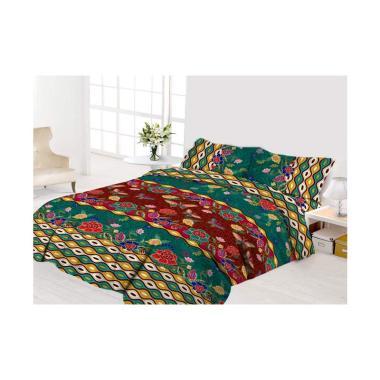 Vito Disperse Rumbai Anjani Set Sprei dan Bed Cover - Multicolor [Size King/ 180 x 200 cm]
