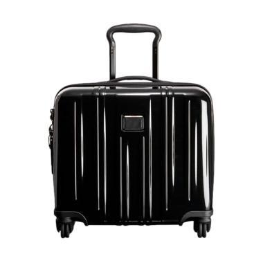 TUMI V3 Compact Carry-On 4 Wheeled Briefcase Koper - Black