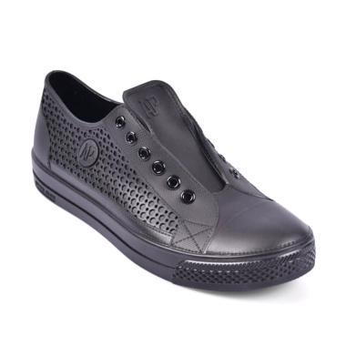 Terbaru. AP BOOTS All Star Karet Sepatu Sneaker Pria - Black 580f450744