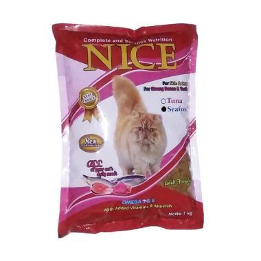 harga Cleine Tadita Petshop - Felibite Nice Seafood Makanan Kucing [1 Kg] Blibli.com