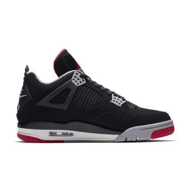 best website 758b4 f34e1 NIKE Men Air Jordan 4 Sepatu Sneakers Pria ...