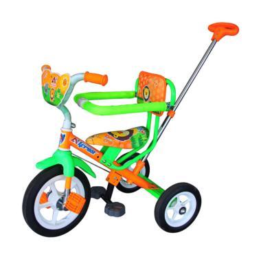 harga Alfrex Tricycle Sepeda Anak Roda Tiga Green Orange Blibli.com