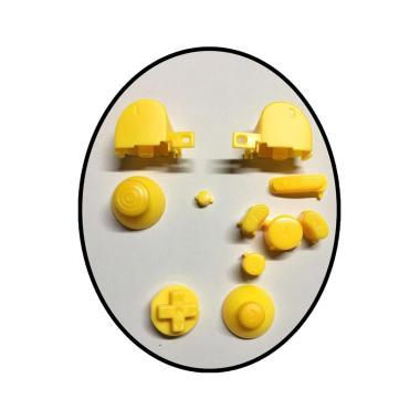 harga Bluelans Button Set with Thumbsticks for Nintendo Gamecube Controller Solid Color - Yellow Blibli.com