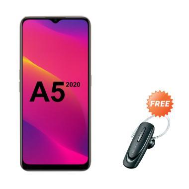 harga OPPO A5 2020 Smartphone [64GB/ 3GB] + Free Headset Bluetooth Blibli.com