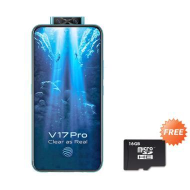 harga VIVO V17 Pro Smartphone [128 GB/ 8 GB] + Free MMc 16 GB BLACK Blibli.com
