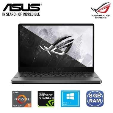 Asus ROG Zephyrus G14 GA401II-R55TA8G Laptop Gaming [Ryzen 5-4600HS/8GB/512GB SSD/GTX 1650Ti 4GB/14