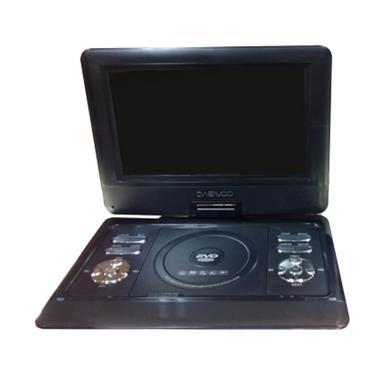 Daewoo Dvd Portable - Hitam [9 Inch]