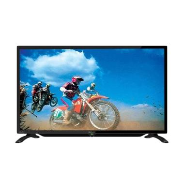 Sharp LC-32LE180I HD LED TV - Hitam [32 inch]