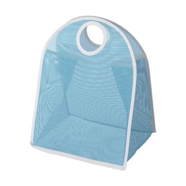 Ikea Laddan Storage Bag - Blue White [3 kg]