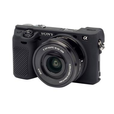 OEM Silicone Rubber Case for Sony A6300 - Hitam