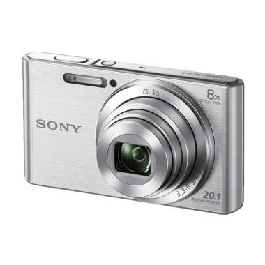 Sony Cybershot DSC-W830 Silver (Garansi Resmi)