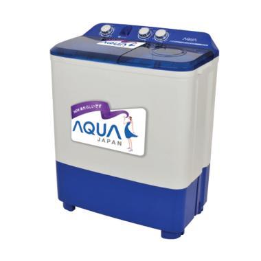 AQUA QW770XT Mesin Cuci [2 Tabung/ 7 Kg]