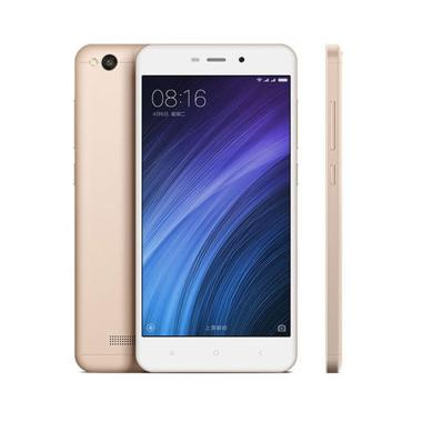 Xiaomi Redmi 4A Smartphone - Gold [16GB/ 2GB]Distibutor  - xiaomi xiaomi redmi 4a ram 2gb   rom 16gb   gold full02 - Update Harga Terbaru Hp Baru Xiaomi Redmi 5 Agustus 2018