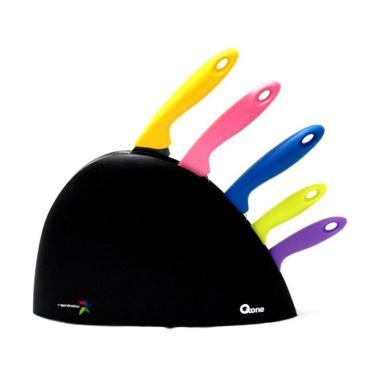 Oxone Rainbow Knife Set [6Pcs] OX606 / OX 606 - Bubble Wrap