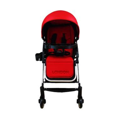 Pliko S618 London Stroller - Red
