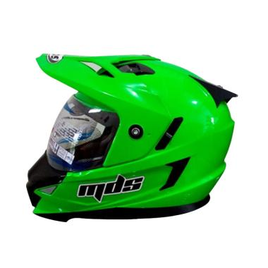 harga MDS Super Pro Helm Full Face - Hijau Blibli.com