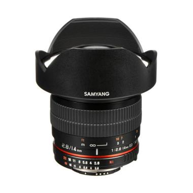 Samyang 14mm F/2.8 Lensa Kamera for Nikon AE - Black Ladang Elektronik