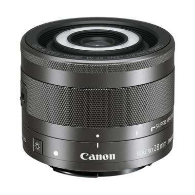 Canon EF-M 28mm F/3.5 Macro IS STM Lensa Kamera