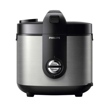 PHILIPS HD 3128 Rice Cooker - Hitam
