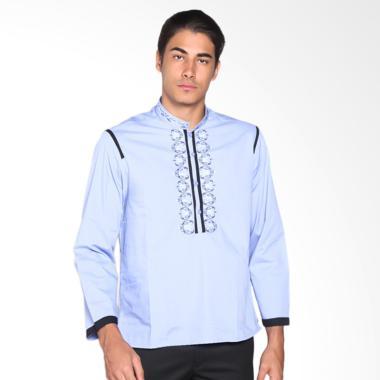 Fayyad Afgar Baju Koko - Blue/Black