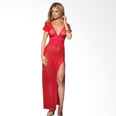 Vavavoom Touch Of Passion  Lingerie - Red Gown