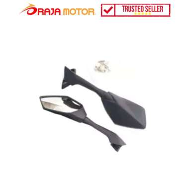 harga RajaMotor Spion Fairing Honda CBR 250 Kaca Cembung - Carbon - Aksesoris Motor Hitam Blibli.com