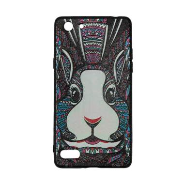 QCF Luxo Rimba Rabbit Silicone Casing for Oppo A33 or Neo 7