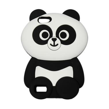 OEM Motif Panda 3D Silicon Softcase Casing for Oppo A33 Neo 7
