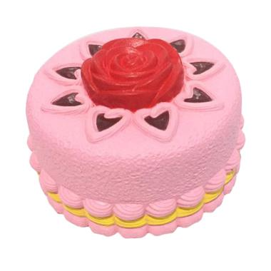 MAINAN SQUISHY KUE TART KIIBRU ROSE CAKE ORIGINAL WARRANTY  EDUKASI