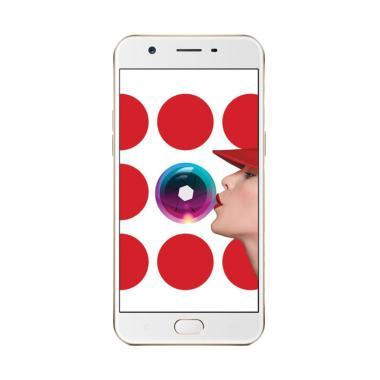 Oppo A57 Smartphone [32GB/3GB] - Gold