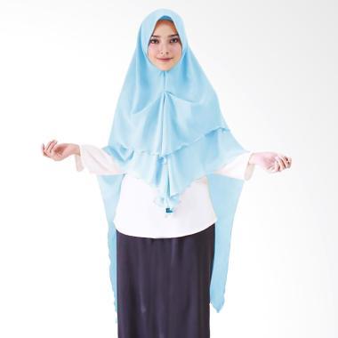 Milyarda Hijab Khimar Azzahra Hijab Instan - Blue