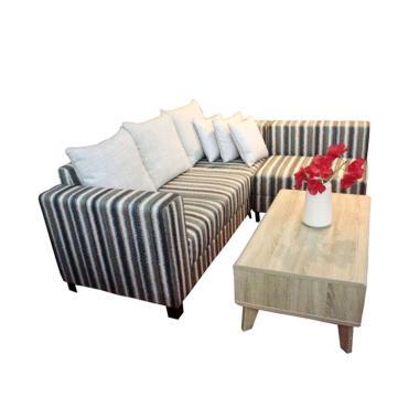 Farefa Charliano Stripe Sofa L