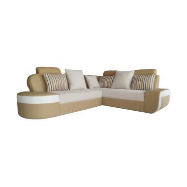 Sumber Rejeki Bianglala Tipe 001 Kursi Sofa - Cream
