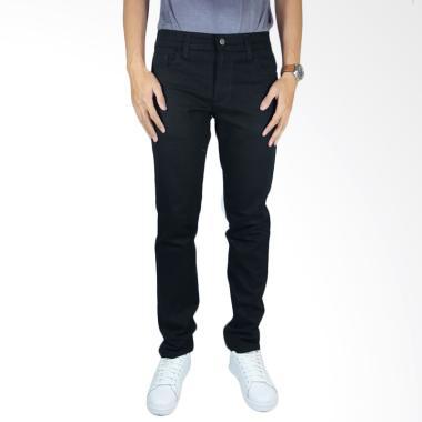 NHS Wear Denim Pants Celana Jeans Pria - Black
