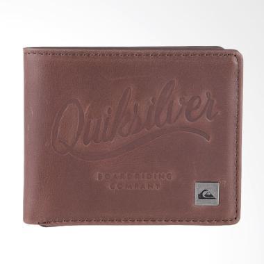 Quiksilver MACKIII M WLLT Dompet Pria - Chocolate EQYAA03522-CTK0
