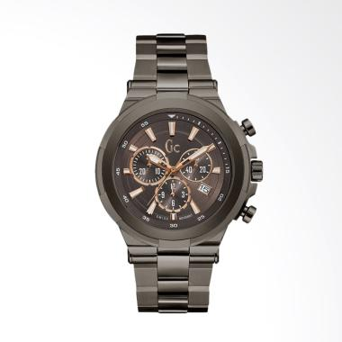 Guess Collection GC Y23004G4 Stainless Steel Jam Tangan Pria - Brown