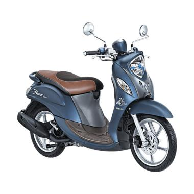 Yamaha New Fino 125 Grande Blue Core Sporty Sepeda Motor [VIN 2019/ OTR Sumatera Utara]