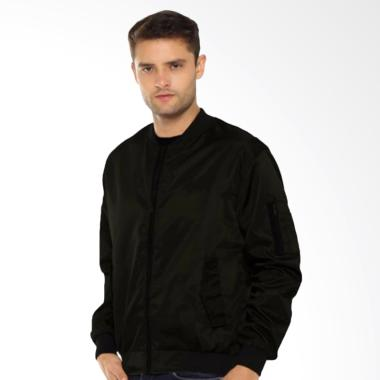 JCFashion Jaket Bomber - Black