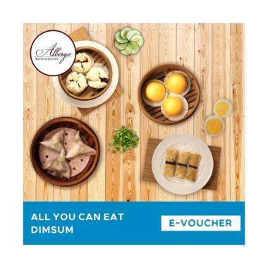 Albergo Resto & Lounge Dimsum All You Can Eat E-Voucher